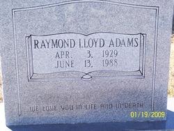 Raymond Lloyd Adams