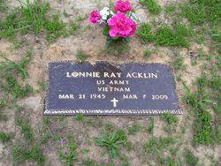 Lonnie Ray Acklin
