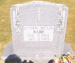 LeVern Edward Bigun Babb