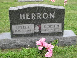 Esther C. <i>Goff</i> Herron