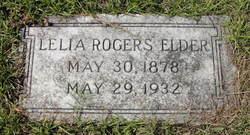 Lelia Juanita <i>Rogers</i> Elder