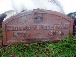 Ronald Wayne Baker