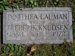Dorthea Catherine <i>Lauman</i> Knudsen