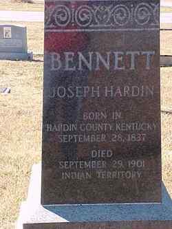 Joseph Hardin Bennett