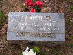 Martha Jane Sis <i>Morris</i> Avey