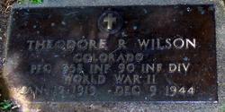 Theodore R Wilson