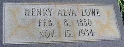 Henry Alva Lowe
