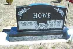 Joann Esther <i>Newton</i> Howe