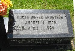 Susan <i>Weeks</i> Anderson