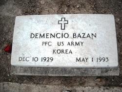 Demencio Bazan
