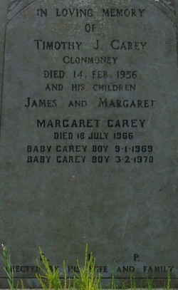 Infant Son Carey