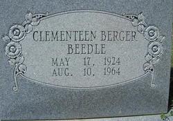 Clementeen Agatha <i>Berger</i> Beedle