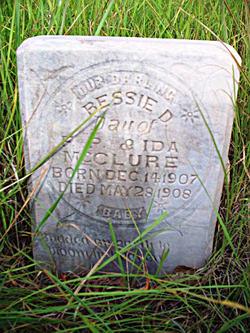 Bessie D McClure