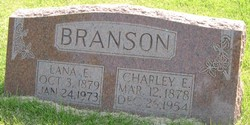 Charles E Charley Branson