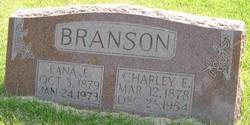 Lana Elizabeth <i>Whaley</i> Branson