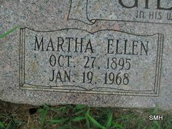 Martha Ellen <i>Orrell</i> Gillham
