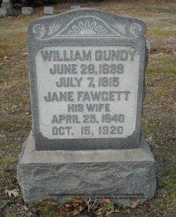 Jane <i>Fawcett</i> Gundy