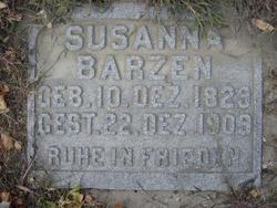 Susanna <i>Arl</i> Barzen