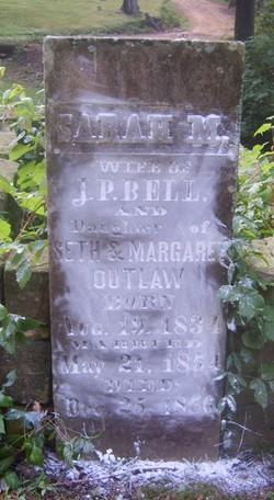 Sarah M <i>Outlaw</i> Bell