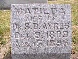 Matilda <i>McKinney</i> Ayres