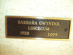Barbara Gwyndol Lincecum