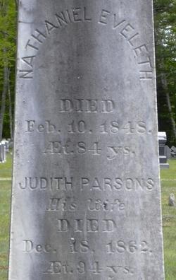 Judith <i>Parsons</i> Eveleth