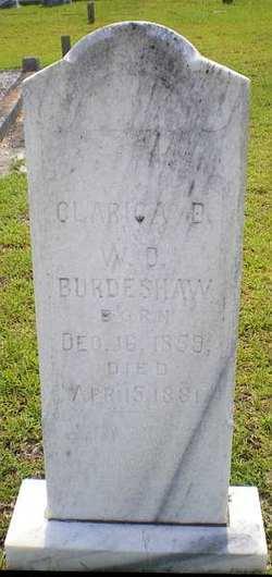 Clarrissa <i>Dawsey</i> Burdeshaw