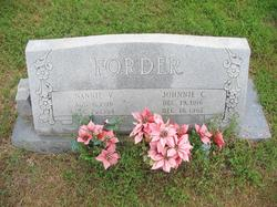 Johnnie Charles Forder