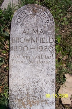 Alma M <i>Bookout</i> Brownfield