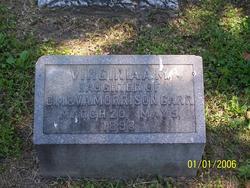 Virginia A M Carr