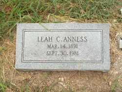 Leah Whitfield Mumsie <i>Clark</i> Anness