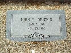 John Thomas Tom Johnson