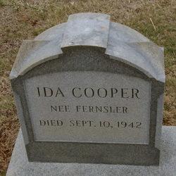 Ida <i>Fernsler</i> Cooper