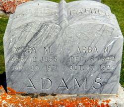 Mary Margaret <i>Bickel</i> Adams