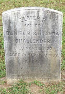 Elmer P Challender