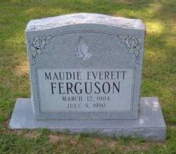Maudie <i>Everett</i> Ferguson