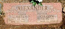 Alfreta Alexander