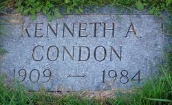 Kenneth A Condon
