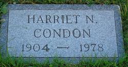 Harriet N Condon