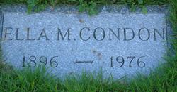 Ella M Condon