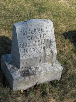 Minerva J. <i>Dow</i> Alexander