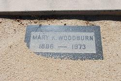 Mary <i>Kervin</i> Woodburn