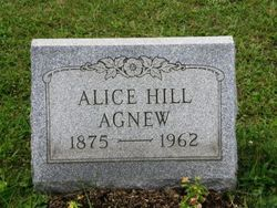 Alice Martha <i>Hill</i> Agnew