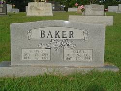 Betty Jean <i>Todd</i> Baker