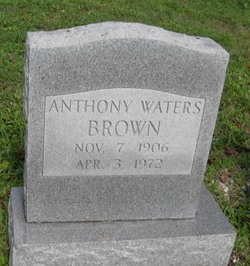 Anthony Waters Brown