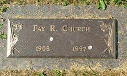 Fay R. <i>Heater</i> Church