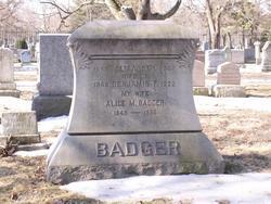 Alice Maria <i>Howard</i> Badger
