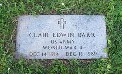 Clair Edwin Barr