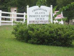 Cross Roads Primative Baptist Cemetery