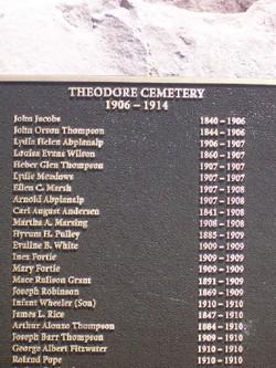Theodore Cemetery